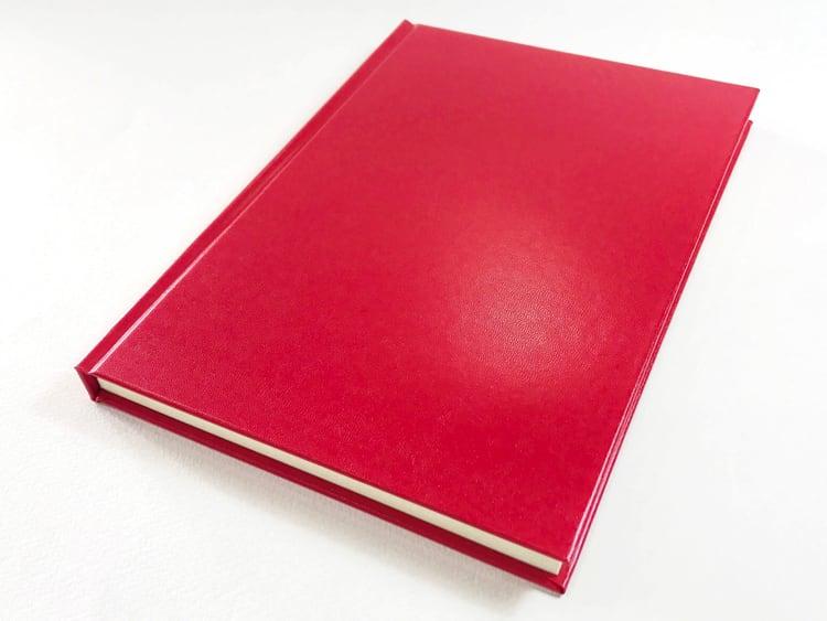 ナカプリバイン プレミアム A5判 7.5mm横罫 200頁 水平開き 表紙