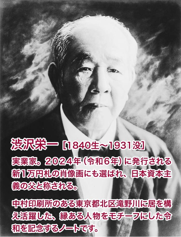 渋沢栄一氏についての説明