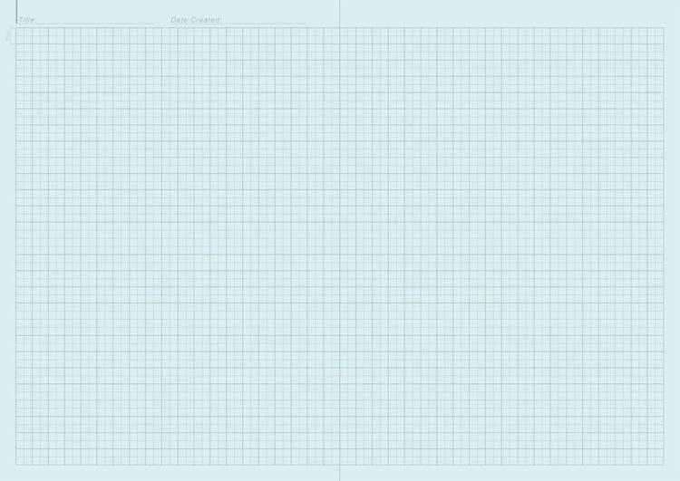 A4判 脳スッキリノート OKシナプス紙 5mm方眼