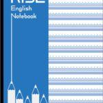 NPO法人リヴォルヴ教育研究所のA4判、水平開き英語ノート、3冊セットの表紙
